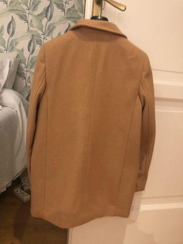 Abrigo Paño color camel