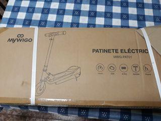 Patinete eléctrico regulable nuevo a estrenar.