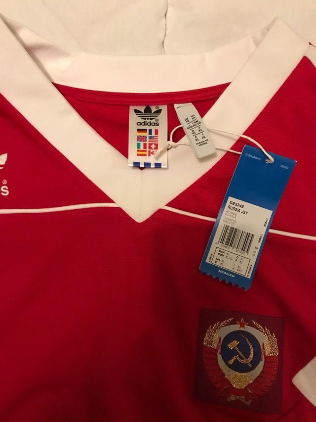 Camiseta URSS, CCCP, USSR fútbol vintage