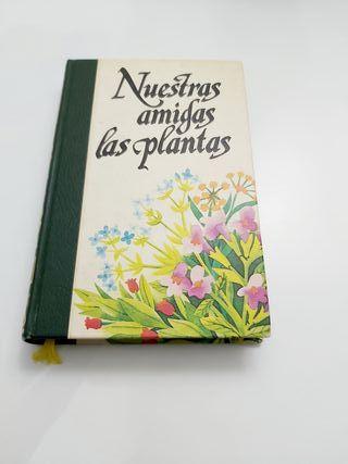 libro botánico nuestras amigas las plantas