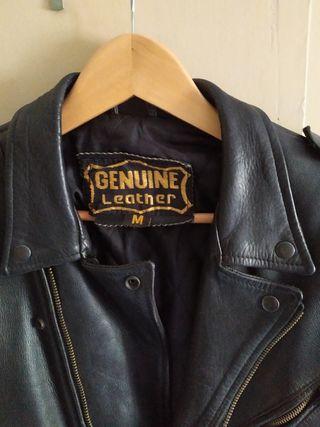 chaqueta de cuero para motos custom