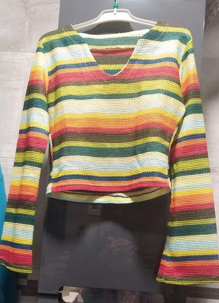 Camiseta Vintage multicolor