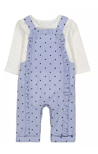 New Dungarees & Bodysuit Set