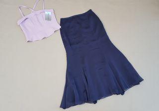 PVP 190€ BRUNELLA falda larga para fiesta TALLA 40