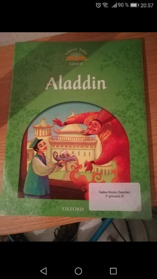 Libro lectura en inglés Aladdin con cd