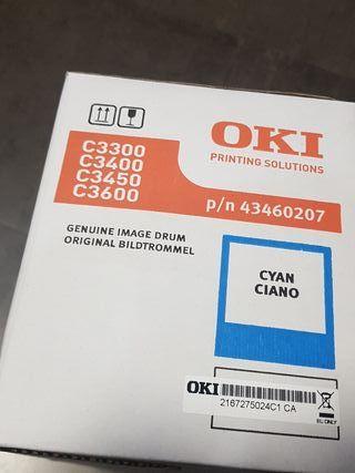 OKI kit tambor cyan p/n 43460207