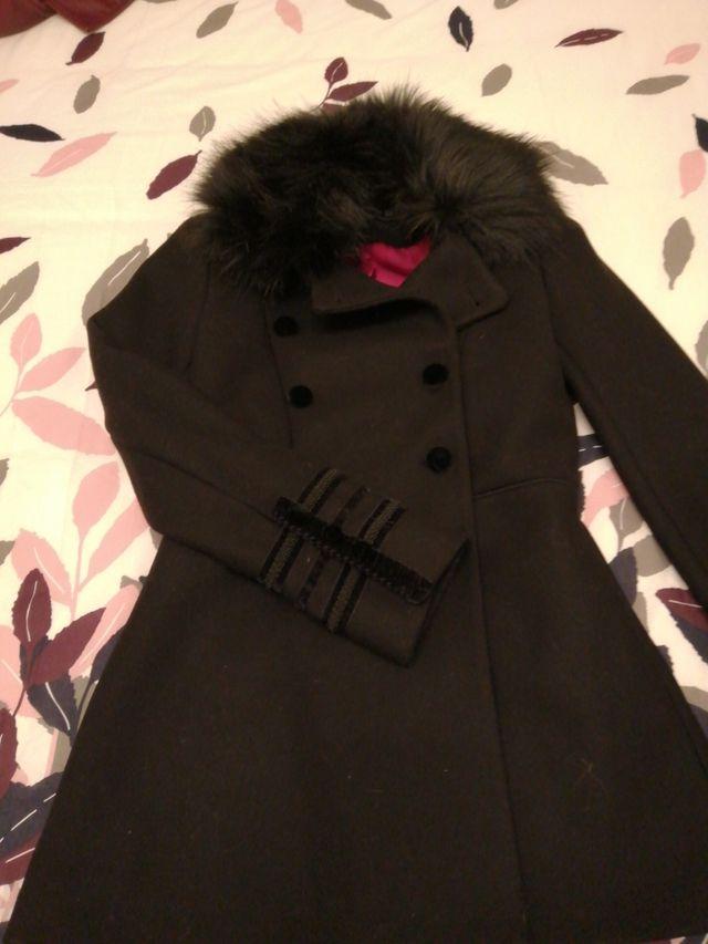 abrigo de paño Zara woman