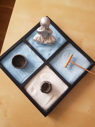 Centro de Mesa o Jardín Zen