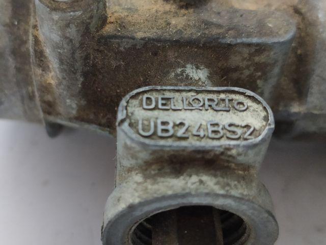 Carburador Dellorto ub24bS2