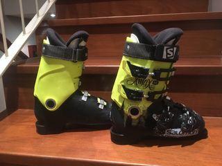 Botas esquí niño talla 24 Salomon