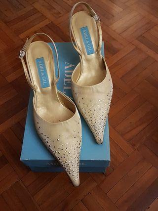 zapato fiesta talla 40 adela gil