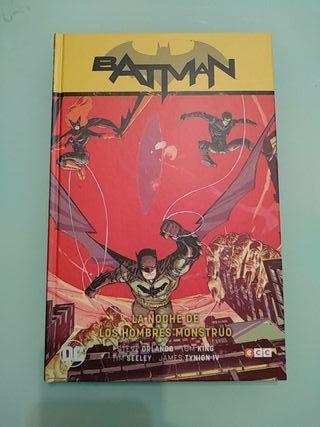 Batman La noche de los hombres monstruo