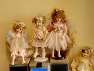 porcelain China Dolls
