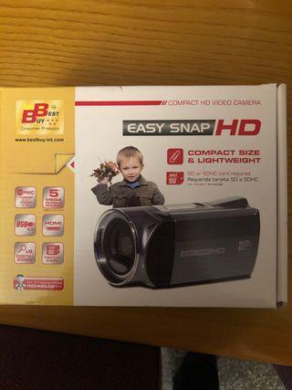 Vídeo cámara nueva sin cargador