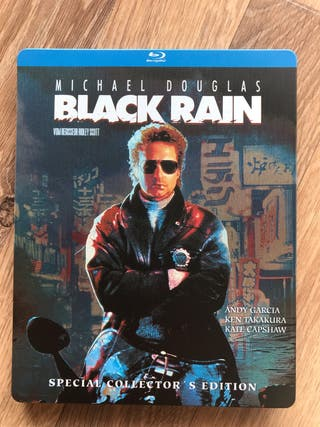 Black Rain Blu Ray Steelbook