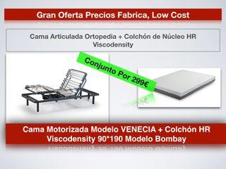 BARATO CAMA MOTOR ORTOPEDIA + COLCHÓN