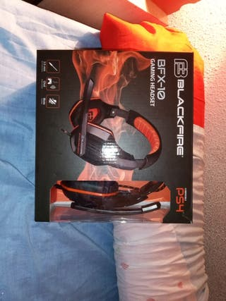 auriculares pc ps4 gaming headset