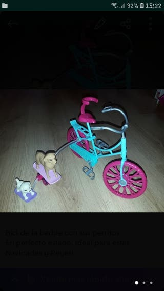 Bicicleta de barbie