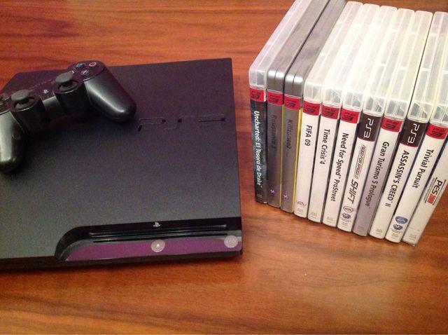 PS3 250gb + 11 Juegos