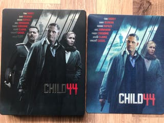 El niño 44 (Child 44) Blu Ray Steelbook Lenticular