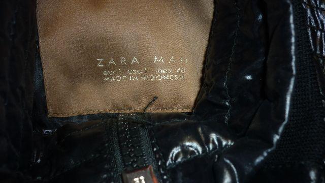 Zara CHAQUETA HOMBRE NEGRA NUEVA TALLA 40 M