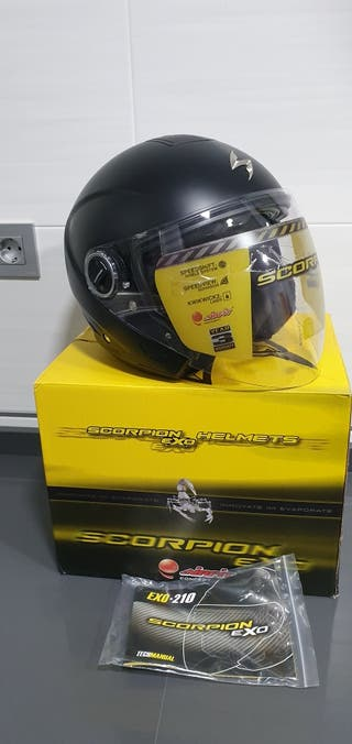 casco moto scorpion exo
