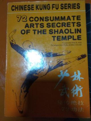 libro de técnicas de shaolin