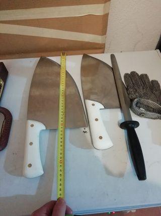 Cuchillos Carniceria, Charcutería, Pescaderia