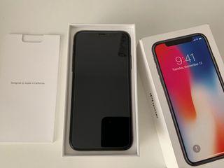 iphone X, 64gb libre negro, muy cuidado.
