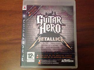 Juego Guitar Hero Metallica para PS3
