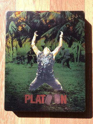 PLATOON Metal Pack Blu Ray CASTELLANO
