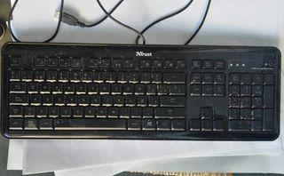 Teclado usb ordenador Trust