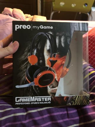 Auriculares gaming PREO MY GAME