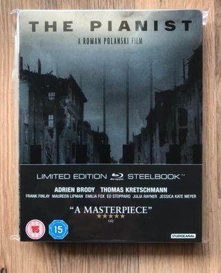 El Pianista (The Pianist) Blu Ray Steelbook