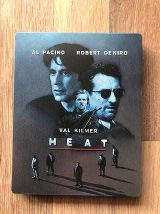 HEAT Blu Ray Steelbook