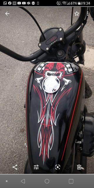 Harley davidson sportster hugger XL del 98