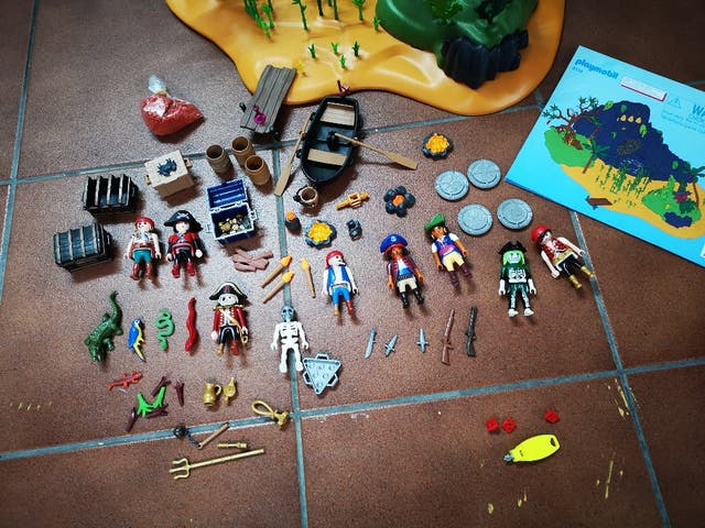 Playmobil isla pirata