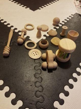 Cofre tesoros Montessori