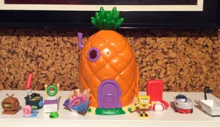 Casa Piña Bob esponja + Casa crustaceo Bob esponja