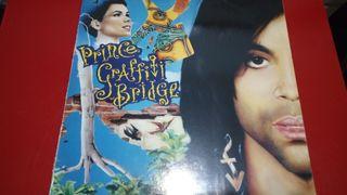 """LP VINILO DE PRINCE """"GRAFITTI BRIDGE"""""""