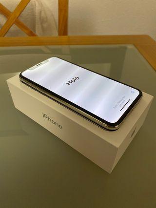 iPhone X 64Gb Silver con garantía