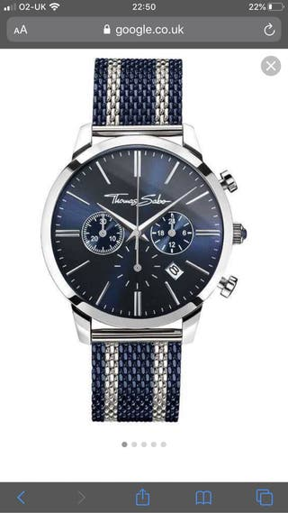 Thomas Sabo Mens Rebel Spirit Chonograph Navy