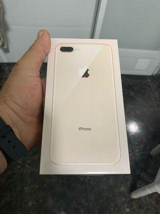 Iphone 8 plus 64 gb dorado !!precintado!!