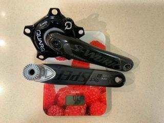 Potenciómetro Quarq DZero+ y Bielas SWorks 172.5mm