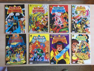 Batman y los Outsiders Comics. Ediciones Zinco.
