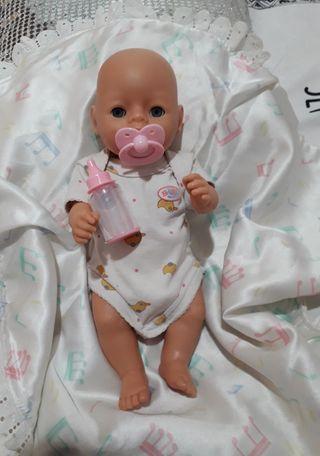 baby born babitas con biberón mágico. de zzapp.