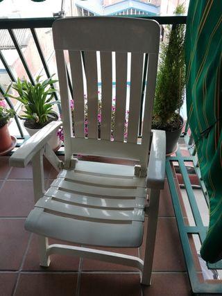 Tumbona de jardín