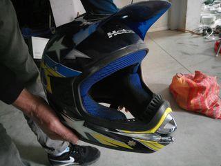 Casco de motor