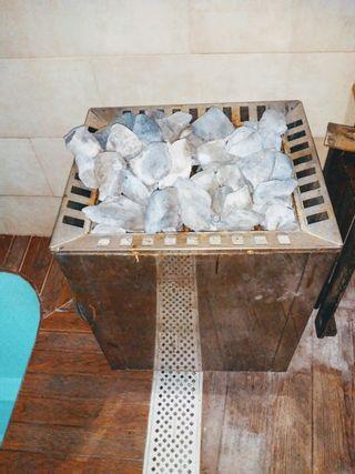 Calentador de sauna