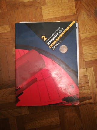 libro de matemáticas de bachillerato